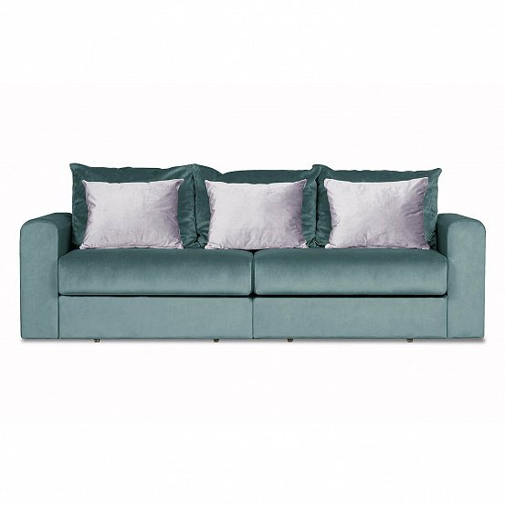 Диван-кровать Мэдисон Лувр голубого цвета