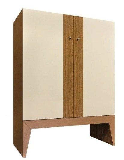 Шкаф Strip бежевого цвета