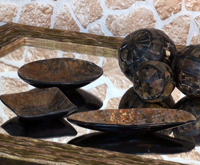 Декоративная чаша из рога буйвола