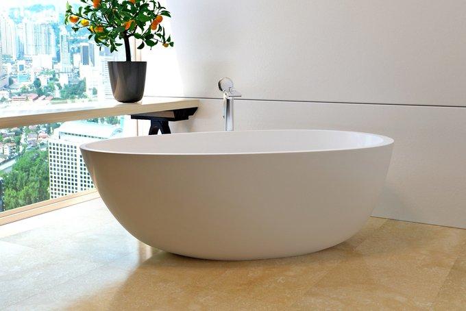 Каменная Ванна Spoon 2 белая
