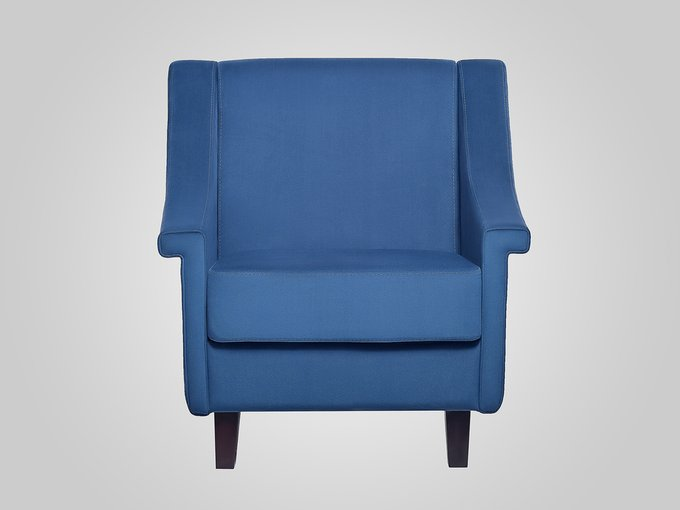 Кресло Boston синего цвета