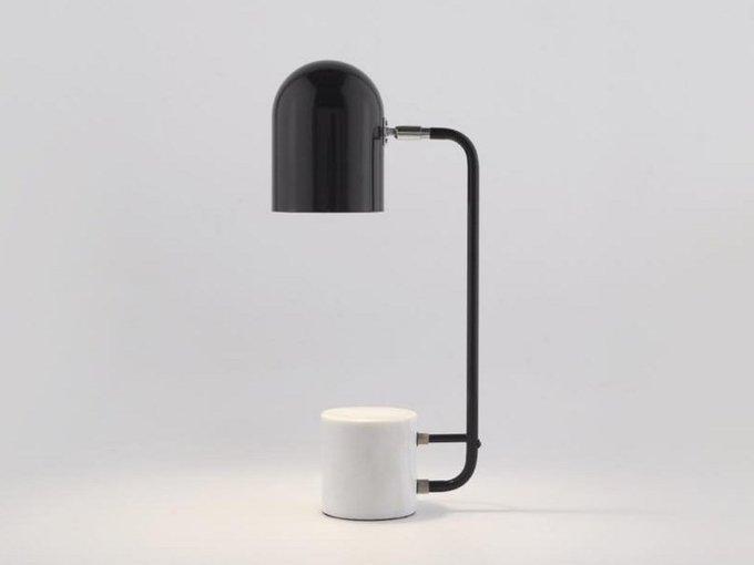Настольная лампа Luca черного цвета