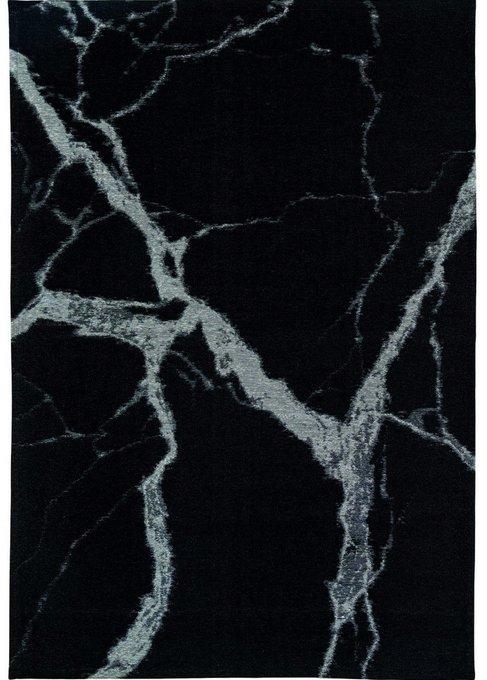 Ковер Statuario Balck черного цвета 160х230