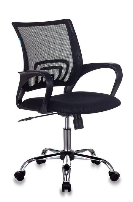 Кресло компьютерное Бюрократ черного цвета