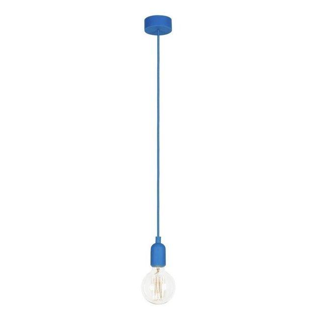 Подвесной светильник Silicone синего цвета