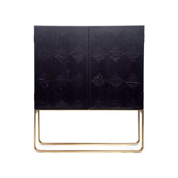 Буфет Graceful двухдверный черного цвета