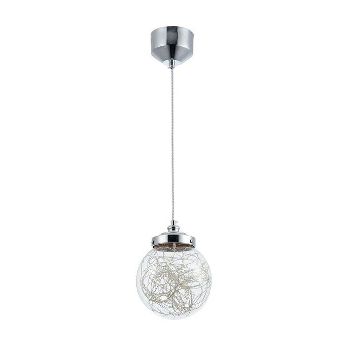 Подвесной светильник Isabel с плафоном из стекла