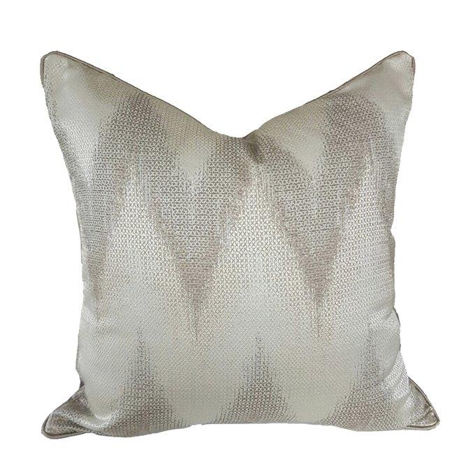 Декоративная подушка Greta серого цвета