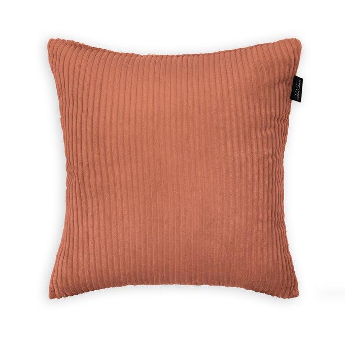 Декоративная подушка Cilium Clay кирпичного цвета