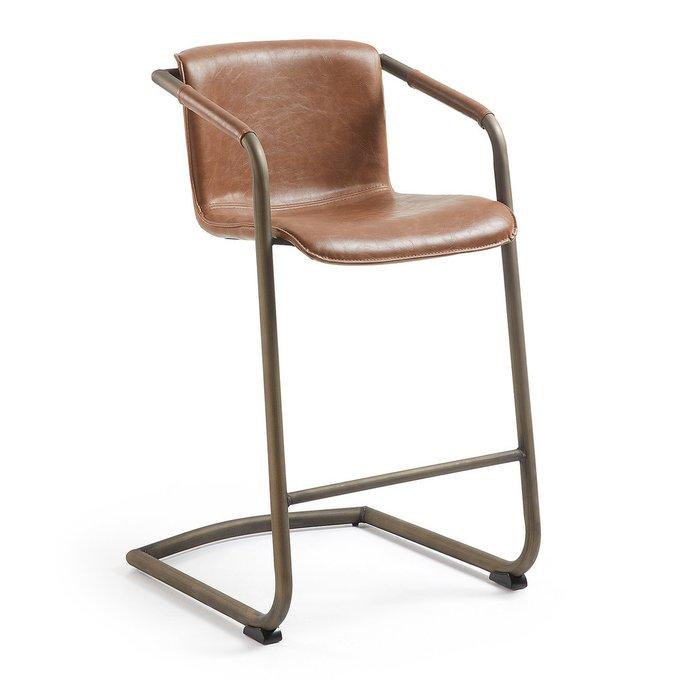 Барный стул Julia Grup TRION коричневого цвета