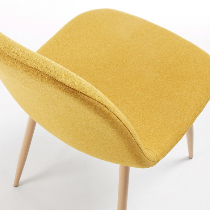 Обеденный стул Lissy желтого цвета