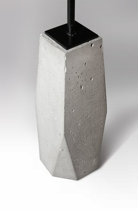 Подвесной светильник Trapeze из бетона