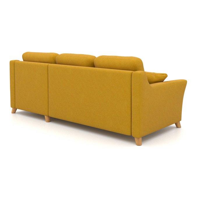 Угловой диван-кровать Raf EKL желтый