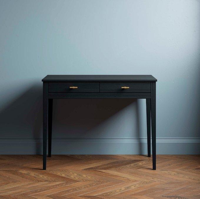 Письменный стол Ustas черного цвета