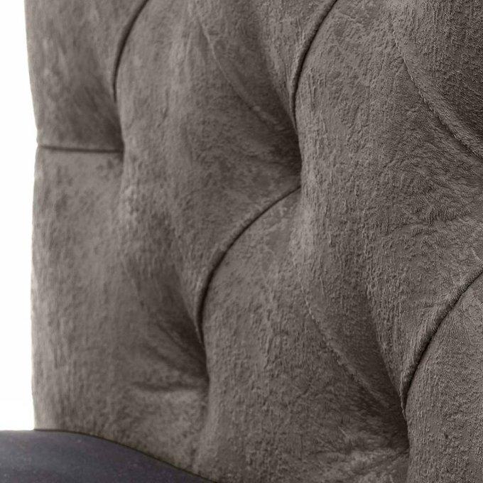 Кровать Монблан Beauty с подъемным механизмом серого цвета 140х200