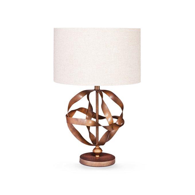 Лампа настольная Lovverk с белым абажуром