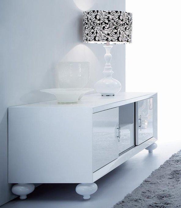 ТВ тумба Palermo белого цвета