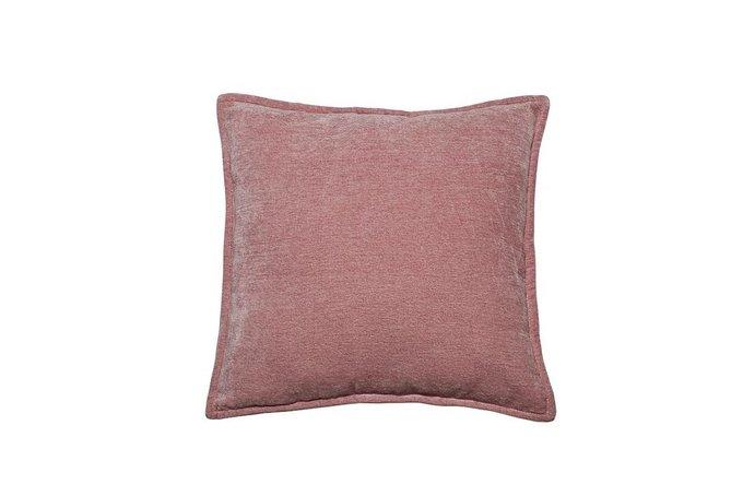 Подушка декоративная светло-розовая