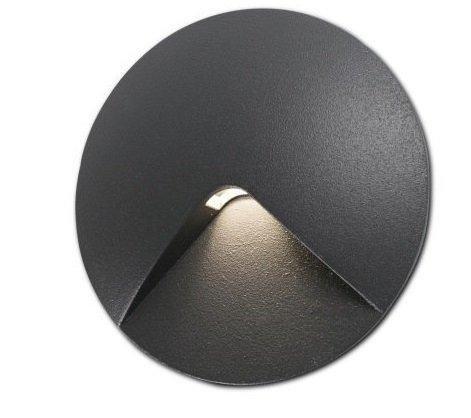Встраиваемый светильник Faro Uve из алюминия и прозрачного стекла.