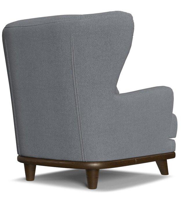 Кресло Роберт дизайн 16 голубого цвета