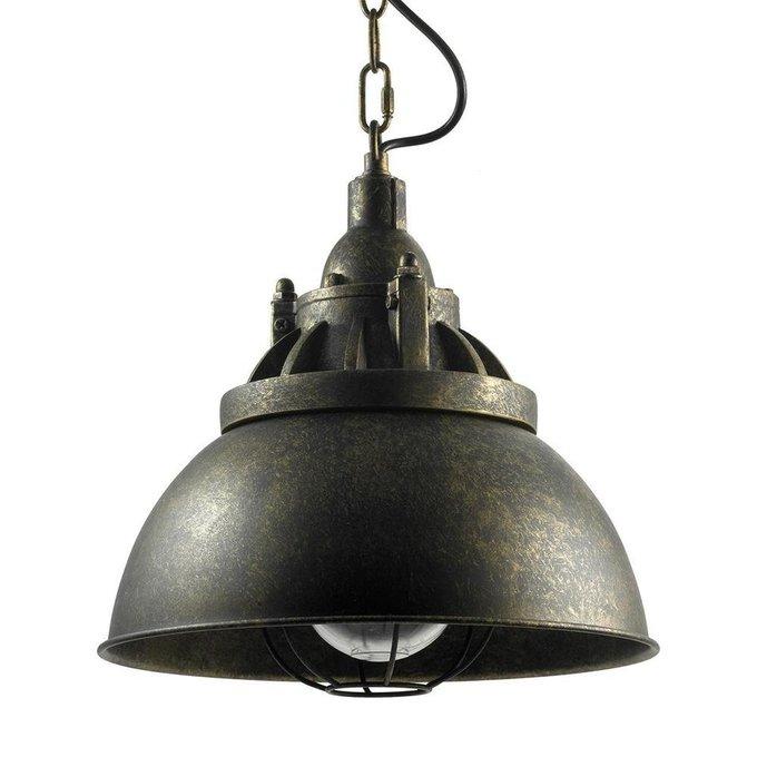 Подвесной светильник коричневого цвета