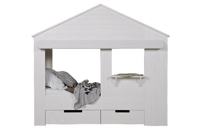 """Кровать-домик De Eekhoorn """"Huisie cupboard bed"""" 90х200 см"""