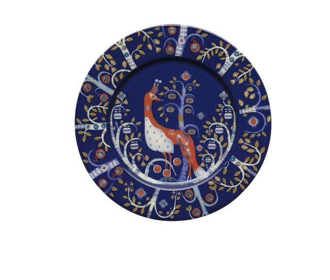 Тарелка Taika синего цвета
