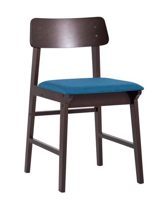 Стул Oden с сидением синего цвета