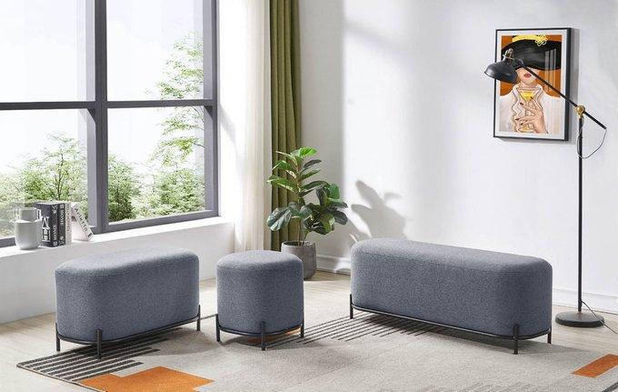 Пуф Sofa серого цвета