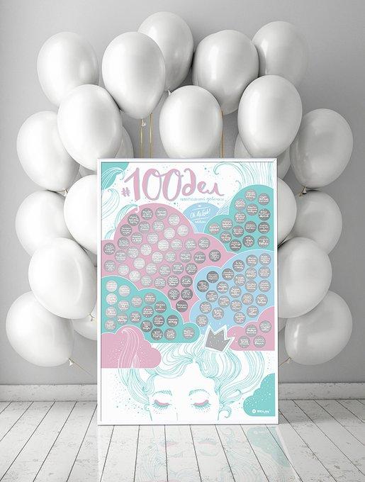 Интерактивный постер #100 дел truegirl edition
