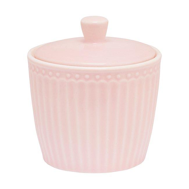 Сахарница Alice pale pink из фарфора