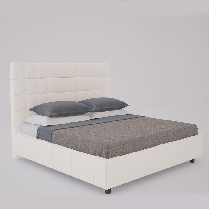 Кровать Shining Modern Велюр Серый 160х200