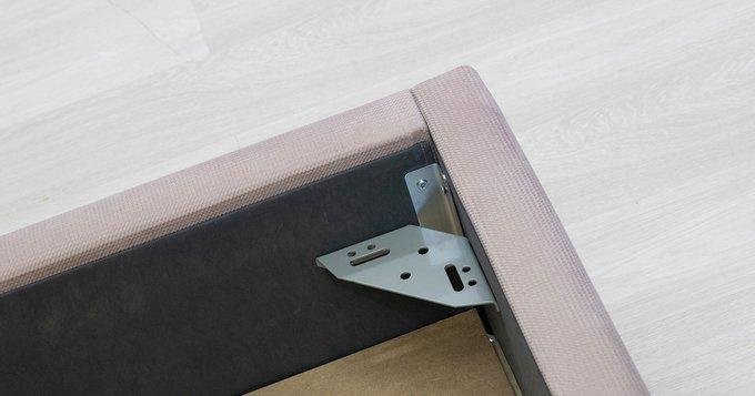 Кровать Мелисса 160х200 с подъёмным механизмом и дном светло-розового цвета