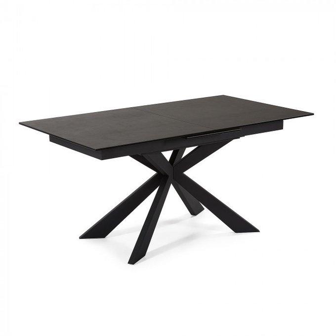 Раскладной обеденный стол Sterne из стеклокерамики
