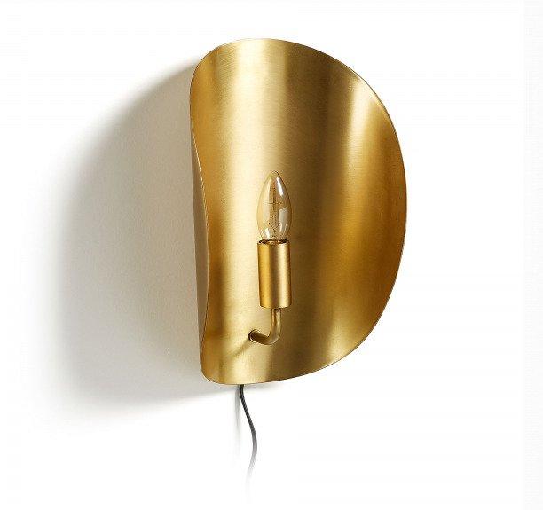 Настенная лампа Calheiro в латунной отделке