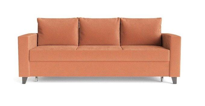 Диван-кровать Эмилио оранжевого цвета