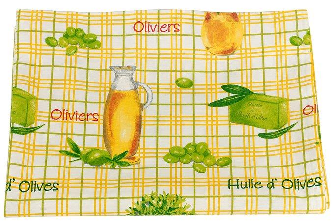 """Штора с рисунком  """"olive"""""""
