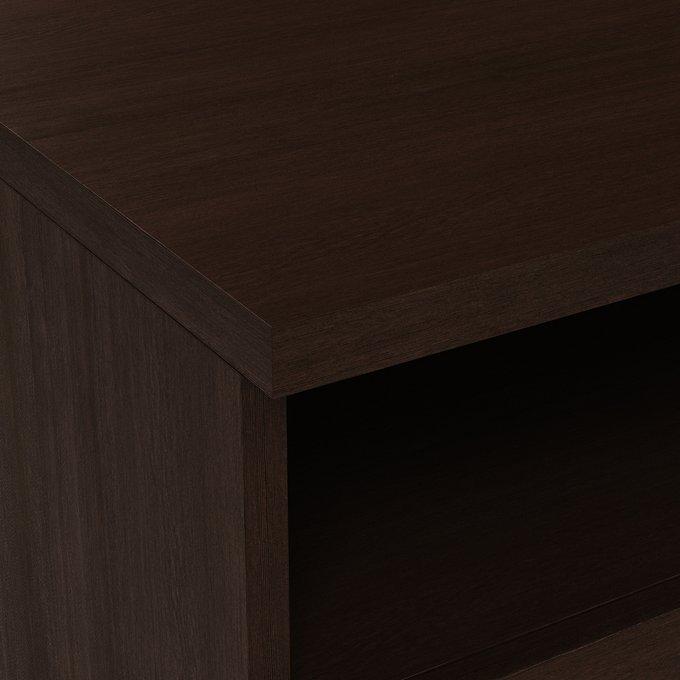 Прикроватная тумба Магна темно-коричневого цвета