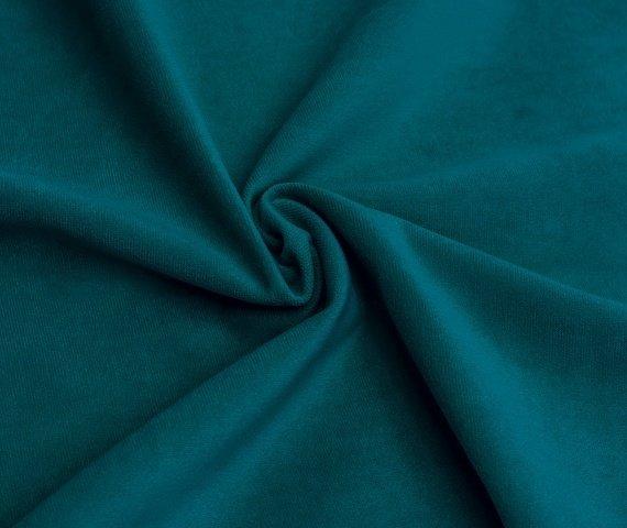 Мягкая зона Cosmo левый серо-ментолового цвета