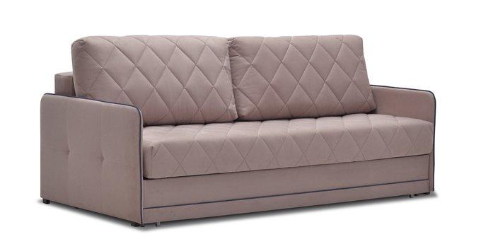 Диван-кровать Клэр коричневого цвета