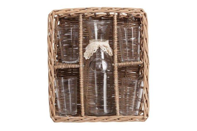 Набор для пикника в плетеной корзинке Picnic
