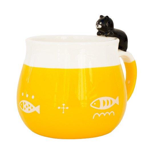 Чашка 'Fisher' (разные цвета) / Желтый
