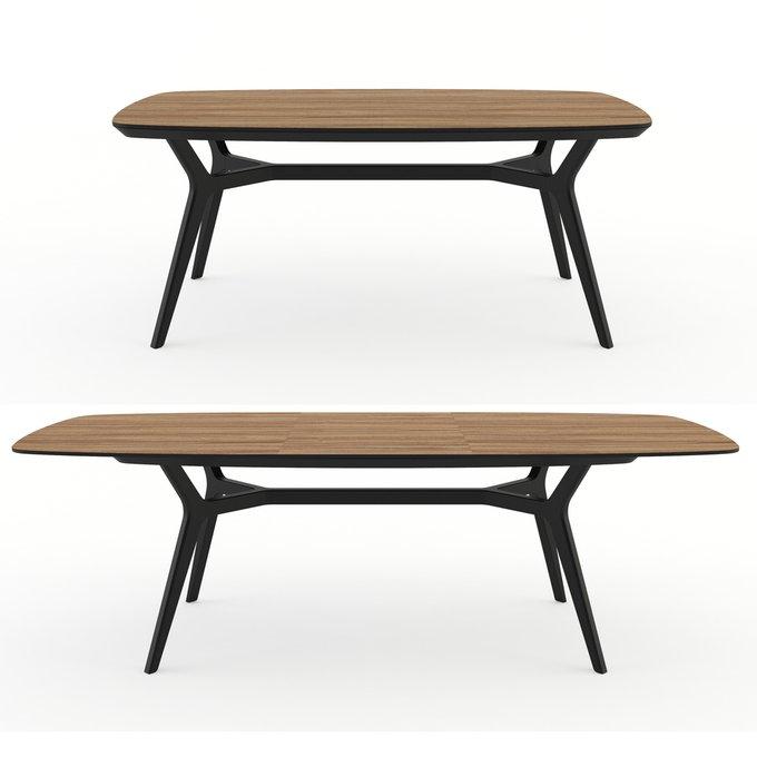 Раскладной стол Unika Johann oak 180-240 дуб