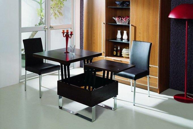 Стол журнально-обеденный цвета венге