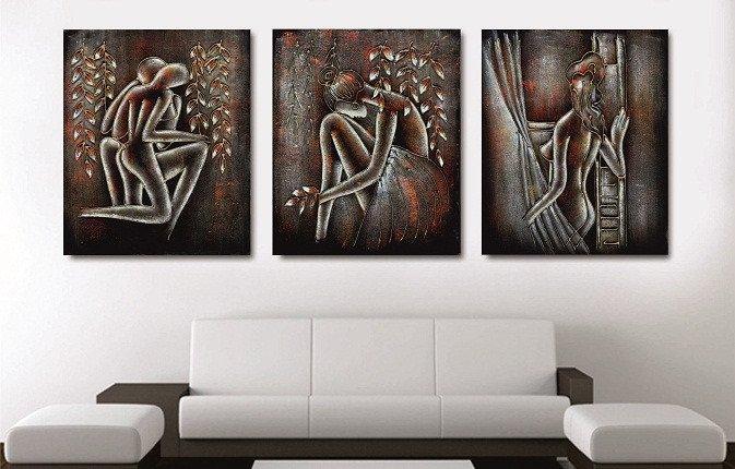 Декоративная картина на холсте: Женское начало