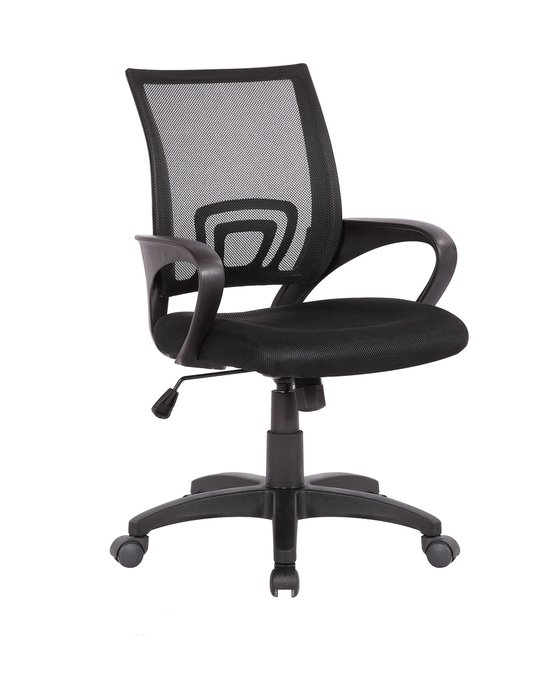 Кресло офисное Top Chairs Simple черного цвета