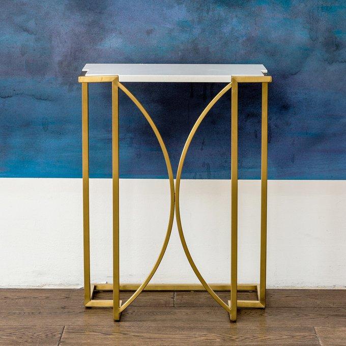 Кофейный столик Октава с мраморной столешницей