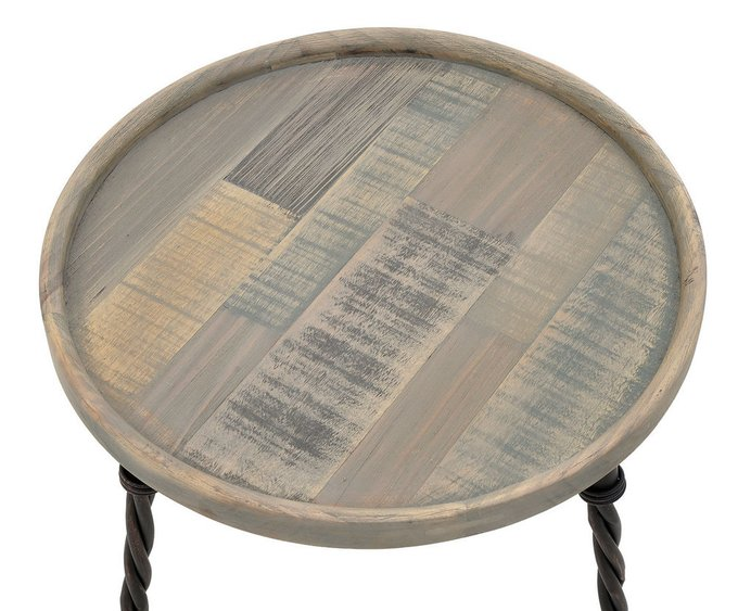 Кофейный столик с круглой столешницей