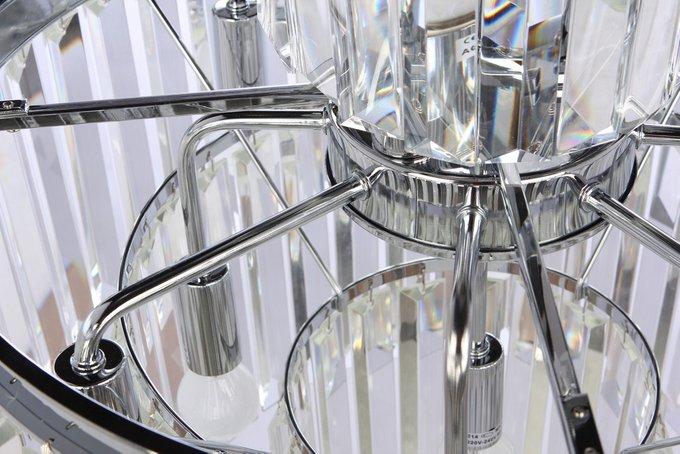 Подвесная люстра Pedestal с хрустальными вставками