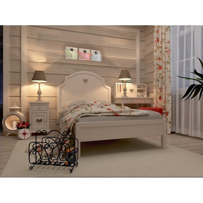 Кровать в стиле Прованс Adelina 140х200